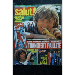 Salut ! 076 n° 76 1978 BREL CHAMFORT POLNAREFF STONES