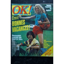 OK ! âge tendre 165 mars 1979 * CLOCLO DAVE Danyel GERARD double page centrale SHEILA