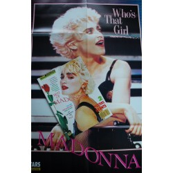 STARS MAGAZINE 16 SEPTEMBRE 1987 BEST OF MADONNA + 2 POSTERS GEANTS NEUF