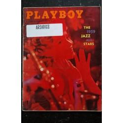 PLAYBOY US 1959 02 FEBRUARY ELEANOR BRADLEY LENNY BRUCE JAZZ THE 1959 PLAYBOY ALL-STARS