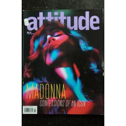 ATTITUDE 139 NOVEMBER 2005 COVER MADONNA CONFESSIONS OF AN ICON INTERVIEW + 14 PAGES