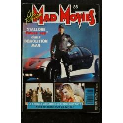 Ciné Fantastique MAD MOVIES 86 1993 COVER SYLVESTER STALLONE La famille ADAMS 2 ACTION MUTANTE