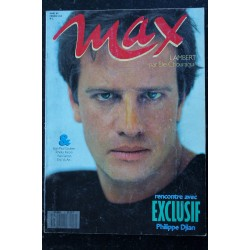 MAX 002 MARS 1989 CHRISTOPHE LAMBERT VERONIQUE GENEST JEAN-PAUL GAULTIER TCHEKY KARYO YVES SIMON ERIC VU AN PHILIPPE DJIAN