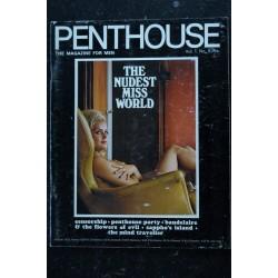 PENTHOUSE UK Vol 01 N° 08 * 1966 * Rare 1ère année FANNY HILLMAN GIOVANNA PODESTA NINA LUNDER