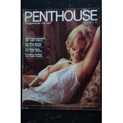 PENTHOUSE UK Vol 03 N° 12 Marianne FAITHFUL ANNALISA HOFFMAN Rodney BENETT GUCCIONE