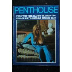 PENTHOUSE UK Vol 03 N° 04 JANE FONDA BARBARELLA Roger VADIM GUCCIONE Mullally