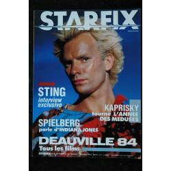 STARFIX 016 n° 16 * 1984 * CANNES 84 INDIANA JONES GREYSTOKE Robert de NIRO