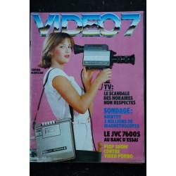 VIDEO 7 008 N° 8 1982 SOPHIE MARCEAU La guerre du feu + CAHIER EROTIC