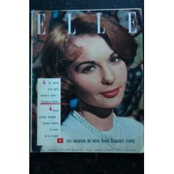 ELLE 582 18 février 1957 Françoise ARNOUL Cover + 2 p. - Gloria Andreota D. du Mourier A. Green - 90 pages FASHION VINTAGE