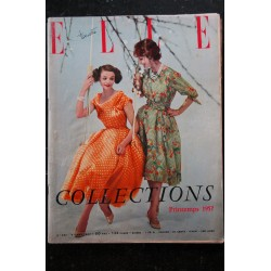 ELLE 583 25 février 1957 Arts Ménagers 1957 Ustensiles GROSFILLEX Sarah BERNARDT - 90 pages FASHION VINTAGE
