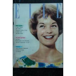 ELLE 657 28 juillet 1958 Annette STRYBERG VADIM St Tropez 4 p. Françoise GIROUD - 76 pages FASHION VINTAGE