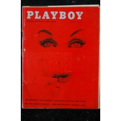 PLAYBOY US 1959 05 MAY PLAYBOY4S HOUSE PARTY AUREOLE DISCRETES BAS DE PAGES