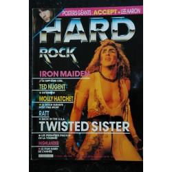 HARD ROCK Magazine 1986 07 n° 23/24 * manque poster * KISS WAYSTED GIRLSCHOOL PINK ROSE MOTORHEAD