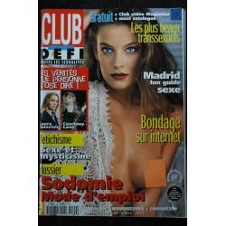 CLUB DEFI 42 NOVEMBRE 1997 COVER MADONNA l'Interview exclusive