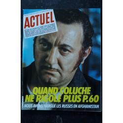 ACTUEL 1980 n° 3 Bani Sadr - La disco est morte - 70/90 en 300 photos - Du Mékong à Auschwitz - Le rock Belge