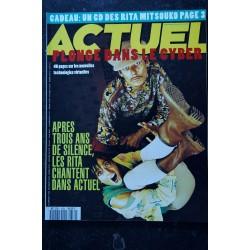 ACTUEL 1993 n° 33 Où croiser 58 Sharon Stone - L'asie fait peur ? - Les Guignols et Léo Ferré - WimWenders