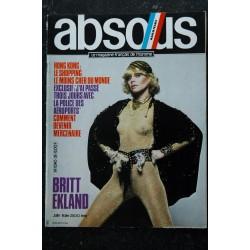 ABSOUS 28 JUIN 1981 INTERVIEW GENE WILDER BRITT EKLAND ROY BREWINGTON ROY BREWINGTON LESLIE TURTLE