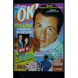 OK ! âge tendre 871 1992 COVER VANESSA PARADIS SES PHOTOS AVEC LENNY KRAVITZ