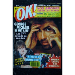 OK ! âge tendre 585 1987 COVER GEORGE MICHAEL & ANDY WHAM ELLI MEDEIROS THE STRANGLERS HARRISON FORD