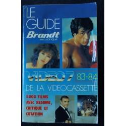 VIDEO 7 049 OCTOBRE 1985 COVER SYLVESTER STALLONE RAMBO Fiona GELIN + CAHIER EROTIC