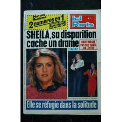 ICI PARIS 2310 OCTOBRE 1989 COVER SHEILA SES PATHETIQUES ADIEUX LINDA DE SUZA FREDERIC FRANCOIS FRANCOIS FELDMAN