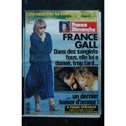 ICI PARIS 2085 JUIN 1985 COVER SHEILA SA DISPARITION CACHE UN DRAME