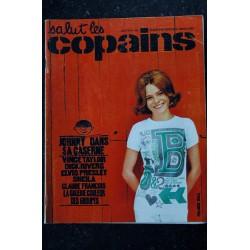 Salut les Copains N° 24 * 07 1964 * manque 1 poster * JOHNNY VINCE TAYLOR DICK RIVERS ELVIS SHEILA CLAUDE FRANCOIS