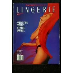 PLAYBOY'S LINGERIE 1992 NOV/DEC CHRISTINE COTE LISA CANADA TERA TABRIZI B RACHE