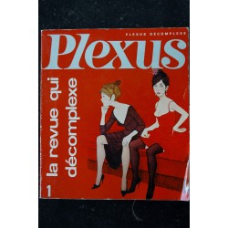 PLEXUS 1 RARE POIRET & SERRAULT PIERRE DAC P NOYER CAPULETTI KRAHN AVERTY 1966