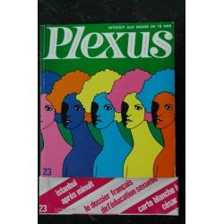 PLEXUS 23 PICHON CESAR ART EROTIC BIXBY R VILLENEUVE JEAN CLEMMER PHOTO NUS 1969