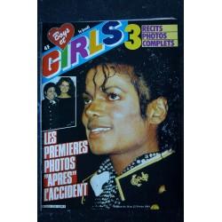 BOYS et GIRLS n° 213 * janvier 1984 * COVER MICHAEL JACKSON THRILLER Les FORBANS