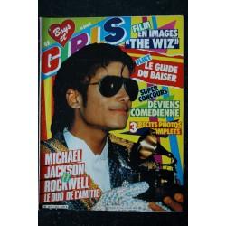 BOYS et GIRLS n° 220 MARS 1984 COVER MICHAEL JACKSON MARC TOBALY VALERIE KAPRISKY