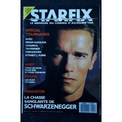 STARFIX 051 n° 51 * 1987 * COVER ARNOLD SCHWARZENEGGER PREDATOR TOURNAGES BRIAN DEPALMA VERHOEVEN CHABROL