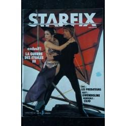STARFIX 007 1983 STAR WARS La guerre des étoiles III Les PREDATEURS GWENDOLINE CUJO