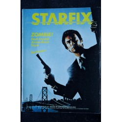 STARFIX 003 1983 COVER CLINT EASTWOOD L'I?NSPECTEUR HARRY ROCKY SYLVESTER STALLONE RUSS MEYER ZOMBIE