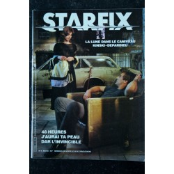STARFIX 004 1983 COVER NASTASSIA KINSKI + POSTER STARFLIGHT ONE MICHAEL CRICHTON BEASTMASTER DAR L'INVINCIBLE