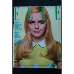 ELLE 1155 8 FEVRIER 1968 COVER BRIGITTE BARDOT FAR WEST CHARLES AZNAVOUR