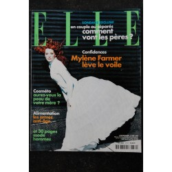 ELLE 3094 18 AVRIL 2005 COVER MYLENE FARMER IDOLE CHOC LES SECRETS DE LA FRENCH MADONNA