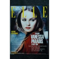 ELLE 2494 18 OCTOBRE 1993 COVER VANESSA PARADIS NOTRE BIJOU ELLE POSE POUR CHANEL POURQUOI J'AI QUITTE LA FRANCE