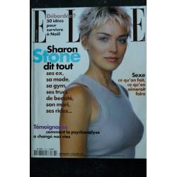 ELLE 3086 21 FEVRIER 2005 COVER SHARON STONE LA MAGNIFIQUE ELLE NACARTHUR HEROÏQUE