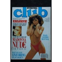 Club International Uk Vol. 16 N° 10 MADONNA NUDE LINZI DREW GEORGINA LISA JULIE MARIA