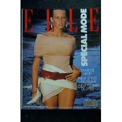 ELLE 2216 27 juin 1988 Monica BELLUCCI Cover Le grand bleu Delpech Pink Floyd - 132 p. Fashion Vintage