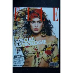 ELLE 2251 27 FEVRIER 1989 COVER CINDY CRAWFORD JODIE FOSTER VERONIQUE SANSON