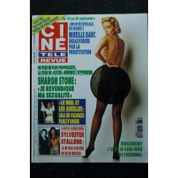 CINE TELE REVUE 9320 FRANCE GALL BOULEVERSANTE 1 PAGE + COUVERTURE