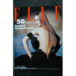 ELLE 2603 NOVEMBRE 1995 COVER VANESSA PARADIS PAR DOMINIQUE ISSERMANN 50 ANS ! SPECIAL ANNIVERSAIRE