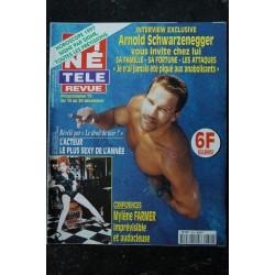 CINE TELE REVUE 9650 ARNOLD SCHWARZENEGGER cover + 6 p MYLENE FARMER