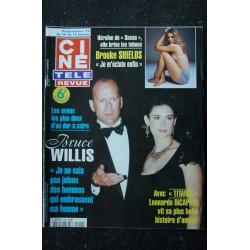 CINE TELE REVUE 1998 10 n° 42 Emmanuelle BEART & Sandrine BONNAIRE cover + 3 p DEMI MOORE Jeanne MOREAU Sharon STONE BELMONDO