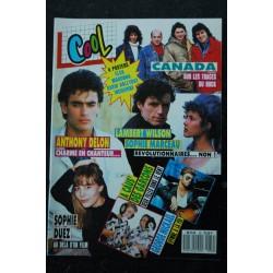 COOL 039 1988 GEORGE MICKAEL SOPHIE MARCEAU A CAUS' DES GARCONS + POSTERS MADONNA INDOCHINE ELSA DAVID HALLYDAY