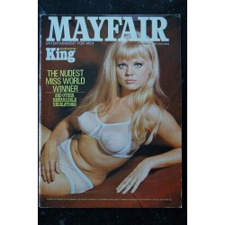 MAYFAIR UK Vol 03 N° 12 1968 12 RARE SHAKIRA BAKSH ERICA CROME MARA OSTERMAN JENNIFER FOX