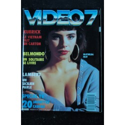 VIDEO 7 060 N° 60 1986 MADONNA GINGER LYNN PRINCE + CAHIER EROTIC